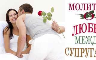 Молитва чтобы муж занимался с женой любовью