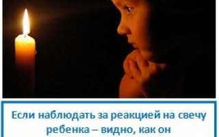 Зажечь свечу молитва