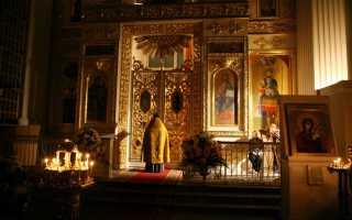 Вечерняя молитва читать дома