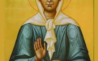 Самая сильная молитва святой матроны