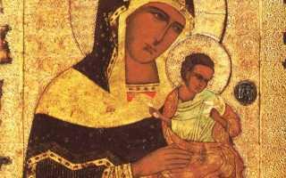 Молитва иконе божией матери коневская