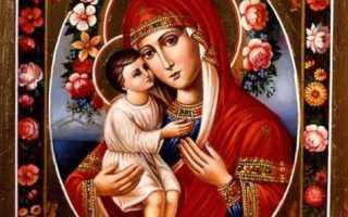 Молитва иконы жировицкой