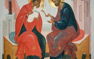 Молитва пророку захарию и елисавете о даровании детей
