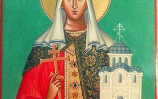 Молитва святой ольге покровительнице имени о любви