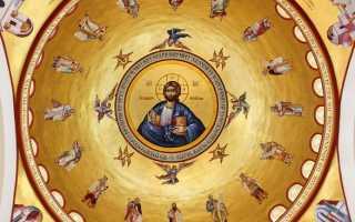 Молитва третьего часа на литургии