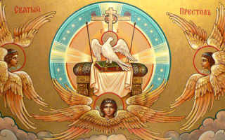 Молитва человек дух святой
