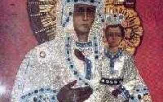 Молитва крымской иконе божией матери