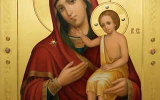Иверская молитва о детях