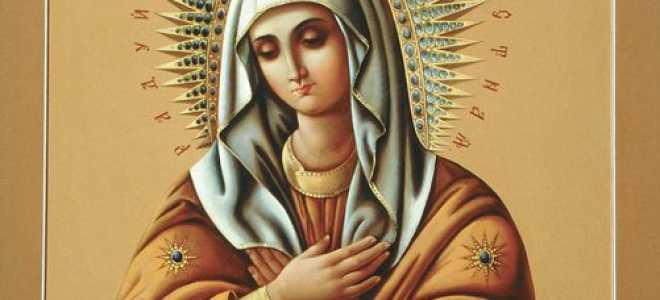 Икона божией матери умиление смоленская молитва