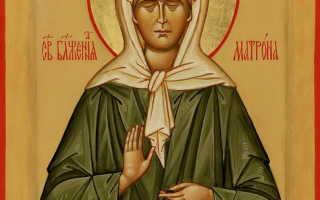 Молитва святой матронушки за здравие ребенка