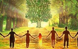 Молитва роду о семье