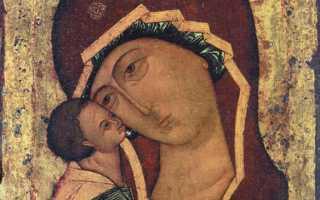Икона игоревская божья матерь молитва