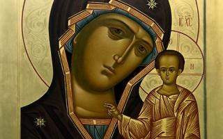 Молитва канон казанской божьей матери