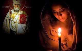 Молитва перед сдачей экзамена чудотворцу