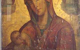 Молитва о детях божьей матери млекопитательница