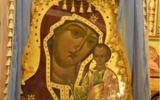 Молитва к иконе табынской божьей матери