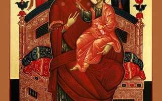 Молитва всецарице об исцелении на русском