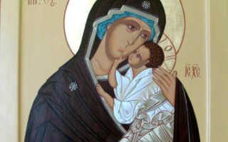 Молитва ярославская иконе божией матери