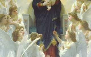 Молитва для успокоения души и сердца православие