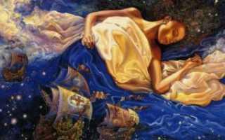 Молитва чтобы увидеть будущие во сне