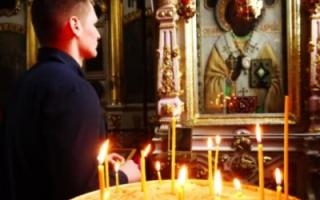 Молитва николаю чудотворцу чтобы жена вернулась