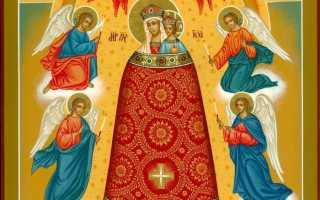 Молитва к иконе пресвятой богородице прибавление ума