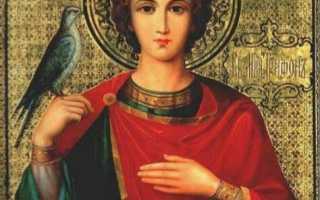 Молитва священномученика трифона